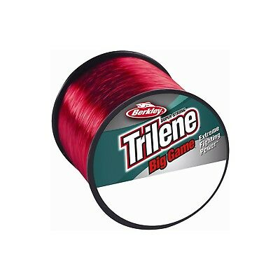 Berkley Trilene Big Game RED Monofilament Fishing Line - All Breaking Strains