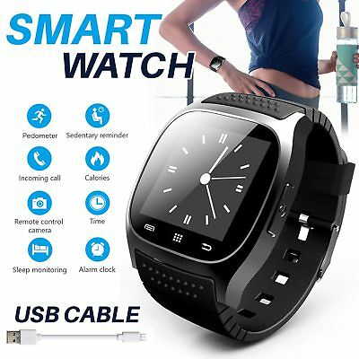 Bluetooth Montre Téléphone Intelligent Smart Watch Bracelet Pour Android Phone G