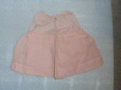 Vintage Doll Clothes 1940s 1950s Pink Dress..