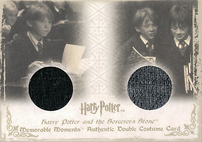 Harry Potter Memorable Moments, Authentic Dual Costume Card DC1 #049/310