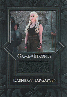 Game of Thrones Valyrian Steel, Daenerys Targaryen Pants VR1 Costume Relic Card
