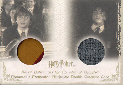 Harry Potter Memorable Moments, Authentic Dual Costume Card DC3 #191/360