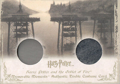 Harry Potter Memorable Moments, Authentic Dual Costume Card DC6 #176/235