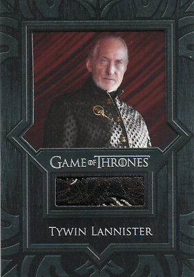 Game of Thrones Valyrian Steel, Tywin Lannister Jacket VR5 Relic Card