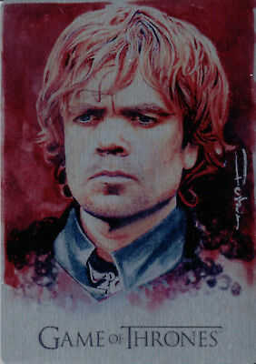 Game of Thrones Valyrian Steel, Set of 6 Artifex Metal Cards #'25