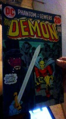 Demon #8, Dc Comics 1973,fn 6.0,b10 Kirby