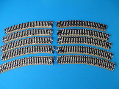Marklin 5200 Outer Curve M track set of 10 pcs. OVP