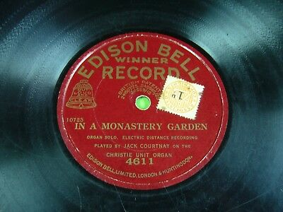 IN A MONASTERY GARDEN, JACK COURTNAY on the CHRISTIE UNIT ORGAN, EDISON BELL