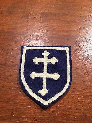 WWI US Army 79th Division patch AEF wool/ felt