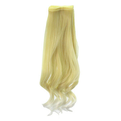25x100cm Doll Curly Wig Hairpiece Curls For All Kinds Dolls DIY Accessory