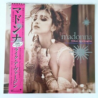 "MADONNA 12""LIKE A VIRGIN & OTHER BIG HITS RSD 2016 SEALED PINK VINYL Rebel Heart"