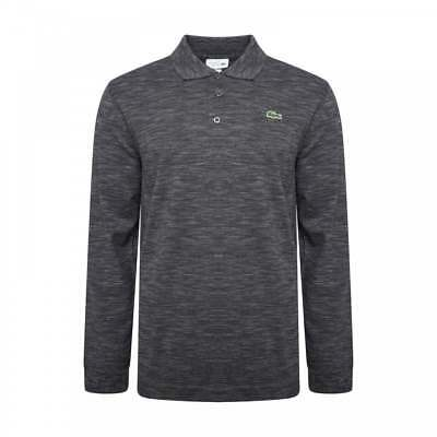 fb0f4022 LACOSTE SPORT MENS Long Sleeve Polo Shirt (Dark Grey) - EUR 45,39 ...