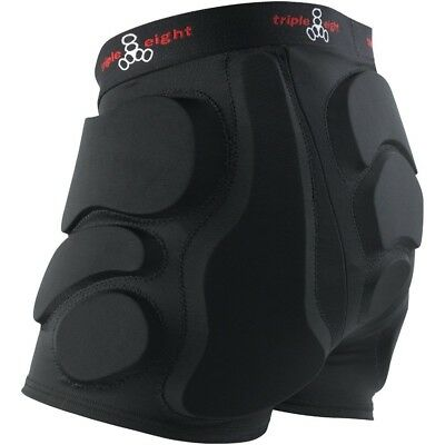 (Large, Black) - Triple Eight Roller Derby Bumsaver & Performance Headband