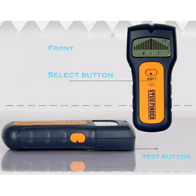 Stud Wood Wall Center Finder Scanner Metal AC Live Wire Rebar Detector Tool