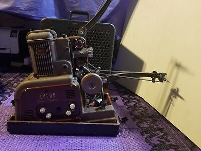 ampro super stylist 16mm projector vintage collection
