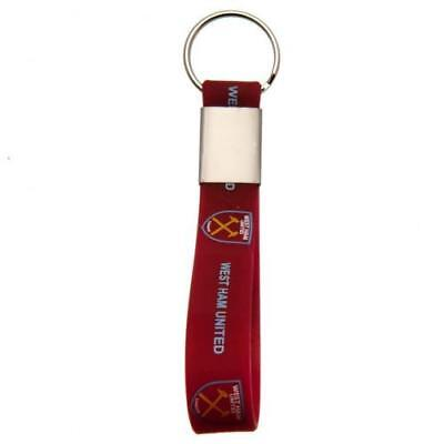 West Ham United F.C. Silicone Keyring  OFFICIAL LICENSED MERCHANDISE GIFT