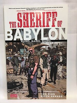 Sheriff of Babylon Volume 1 Bang Bang Bang TPB Tom King 9781401264666