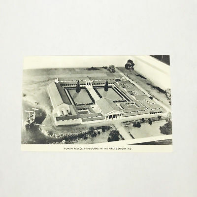 Roman Palace, Fishbourne In The First Century A.d. Vintage Postcard England