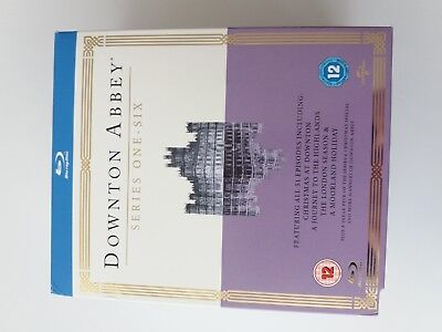 downton abbey,the complete series, blu-ray