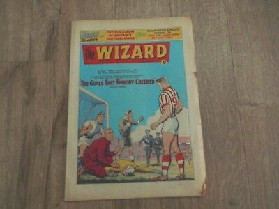 Vintage Comic The Wizard no 1970 Nov 16th 1963 Last Issue GC