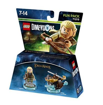 Toys-Lego Dimensions: Fun Pack - Lord of the Rings Legolas /Video Gam GAME NUEVO