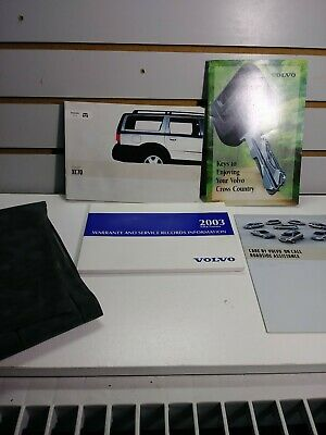 owners manual 2003 volvo xc70
