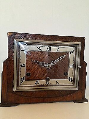 Vintage Perivale Mantel Clock with Westminster Chimes