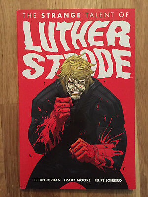 """Image Comics US """"The Strange Talent of LUTHER STRODE"""" (PB, First Print 2012)"""