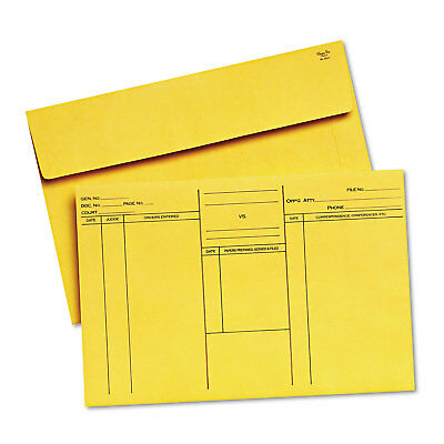Quality Park Attorney's Open-Side Envelope Ungummed 10 x 14 3/4 Cameo Buff 100