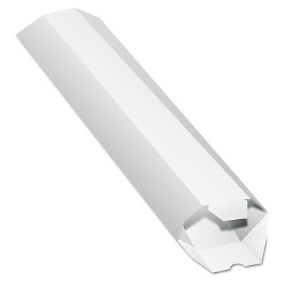 Quality Park Expand-on-Demand Mailing Tubes 24l x 2dia White 46009