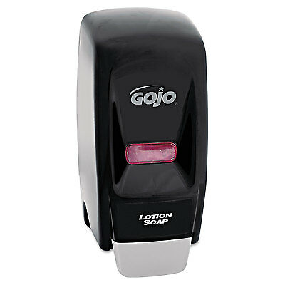 Gojo Bag-In-Box Liquid Soap Dispenser 800-ml 5 3/4w x 5 1/2d x 11 1/8h Black