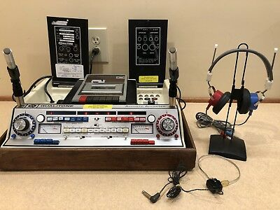 Qualitone AAH 2 Channel Audiometer with Current Calibration Cert.