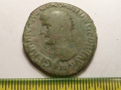 3057	Ancient Roman copper as coin Germanicus - 1st. century AD.