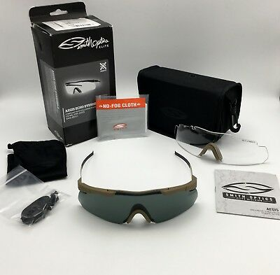 98dbf82e23 Smith Optics Elite Aegis Echo Asian Fit Metal Ballistic Glasses 2-Lens Kit