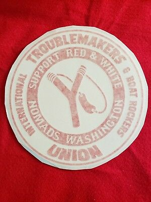 Hells Angels Washington Nomads Collectible Trouble Makers Union Support Sticker