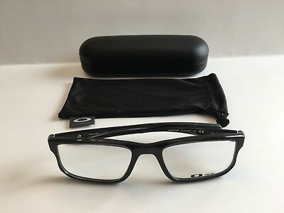 808815c2dd OAKLEY VOLTAGE AUTHENTIC Rx Glasses Black Ink Ox8049-0255 55-19-137 ...