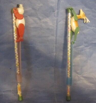 Vintage Plastic Toy Christmas Candy Dispensers