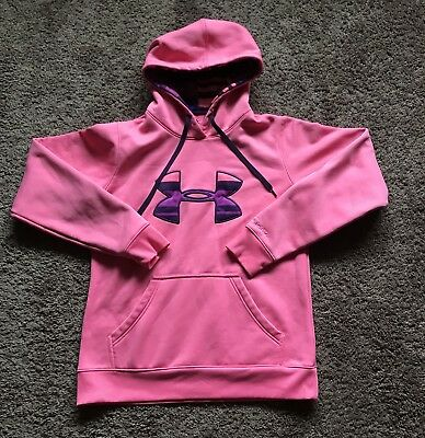 Under Armour Storm Semi-Fitted Women's Pink Hoodie Size Small