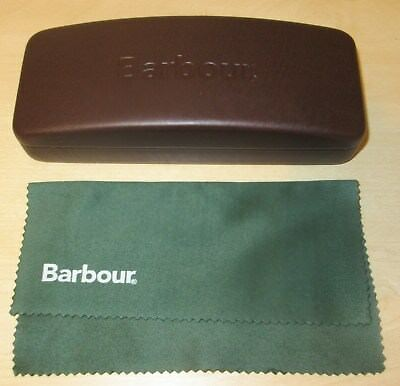 Barbour Glasses / Sunglasses Case With Cleaning Cloth    New