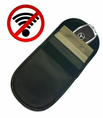 Car Key Signal Blocker Case Faraday Cage Fob Pouch Keyless Theft Blocking Bag