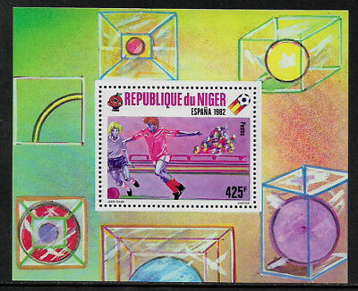 Niger #526 Mint Never Hinged S/Sheet - World Cup Soccer