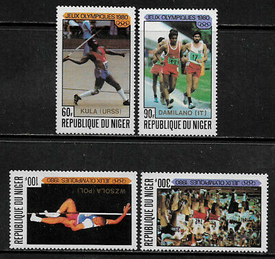 Niger #527-30 Mint Never Hinged Set - Olympic Winners