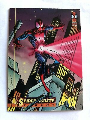 Spider-Man Fleer Marvel Card #5 Powers