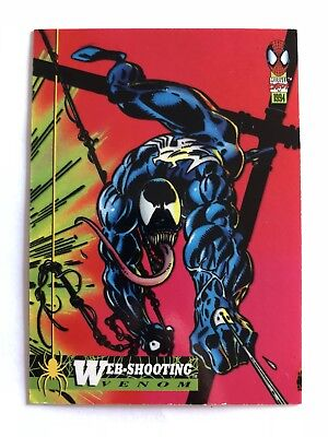 Spider-Man Fleer Marvel Card #11 Web Shooters