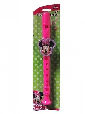 Disney Flute Recorder (Minnie Mouse). What Kids Want Europe. Brand New