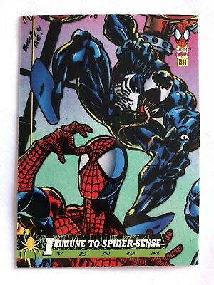 Spider-Man Fleer Marvel Card #17