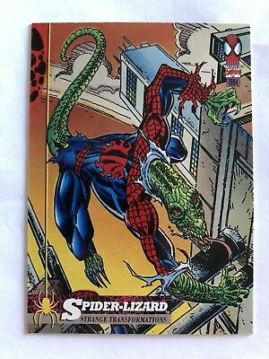 Spider-Man Fleer Marvel Card #21 Spider-Lizard