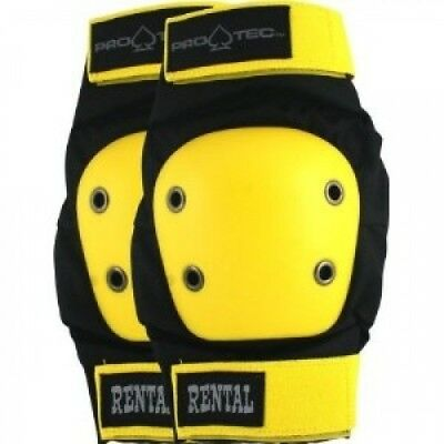 Protec Rental Elbow Large Black Yellow Skate Pads. Pro Tec. Best Price