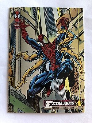 Spider-Man Fleer Marvel Card #23 Extra Arms