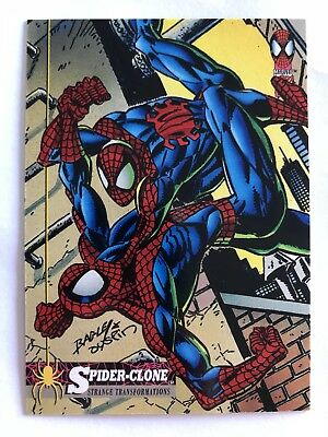 Spider-Man Fleer Marvel Card #24 Spider-clone
